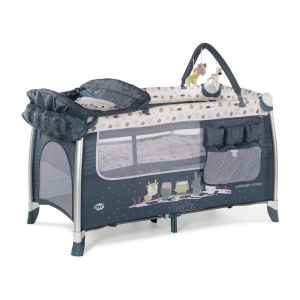 MS Complet Aluminio Travel Cot