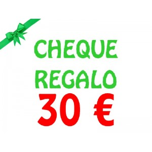 Cheque regalo 30 €