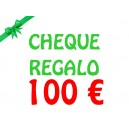 Cheque regalo 100 €