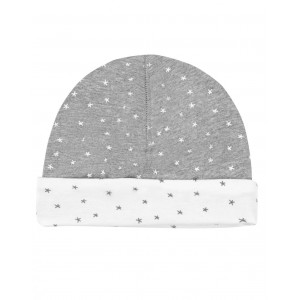 Gorro recien nacido Mini Stella reversible