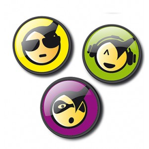 Chapas Emoticons Cool